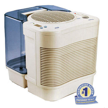 Hunter carefree humidifier plus sam 39 s club for Living room humidifier