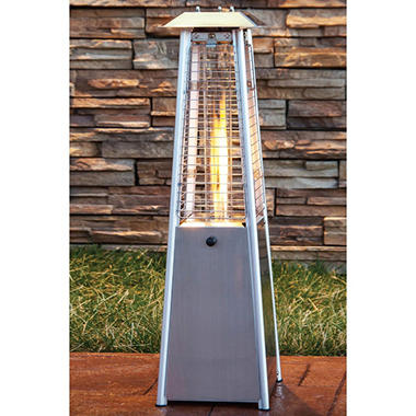 Stainless Steel Propane Patio Heater - 7000 BTU