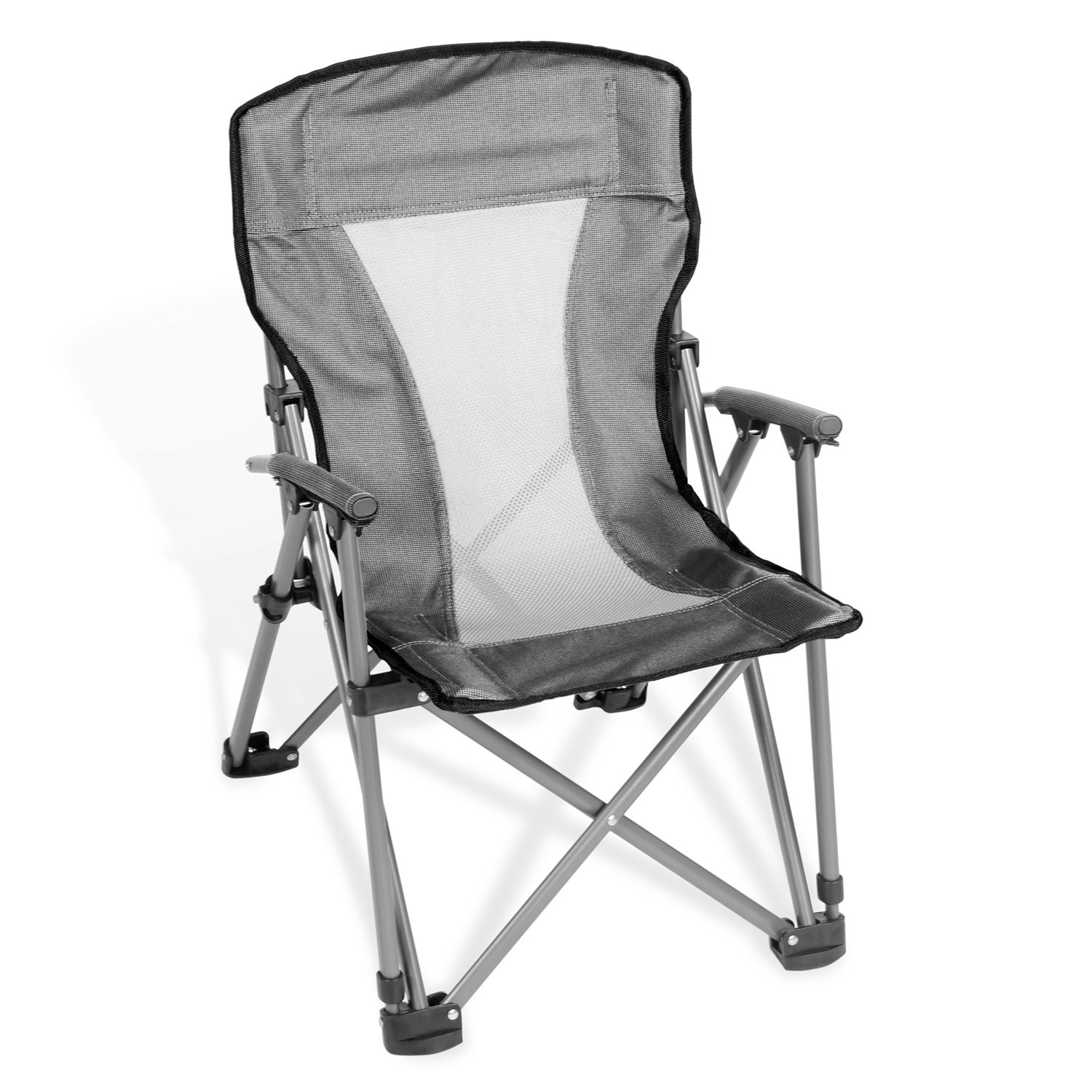 kids 39 folding arm chair with padded arms and backrest with