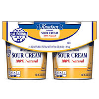 Knudsen Hampshirt Sour Cream (32 oz. tub, 2 ct.)