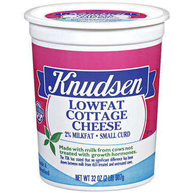 Knudsen Low Fat Cottage Cheese - 2 lbs.