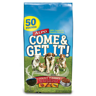 Purina Alpo Come & Get It! Cookout Classics Dog Food - 50 lbs.