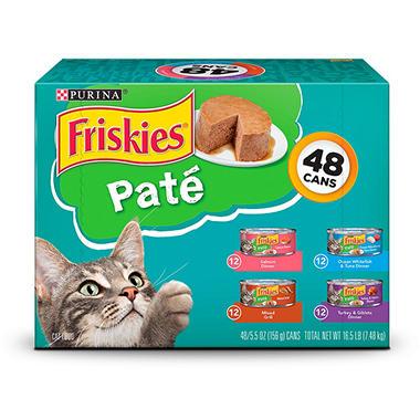 Purina Friskies Variety Pack - 48 pk.