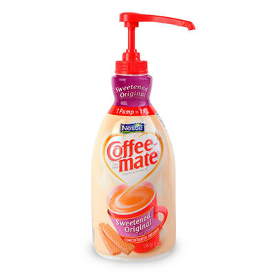 Nestle Coffee-mate - Sweetened Original Creamer Pump, 1.5 liter