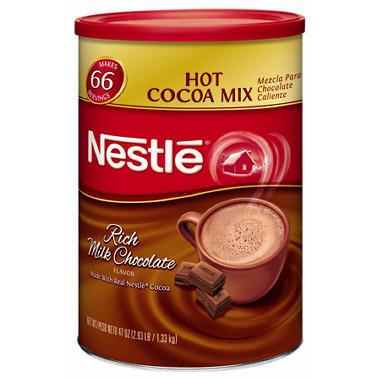 Nestle Hot Cocoa Mix - Rich Milk Chocolate - 47 oz.