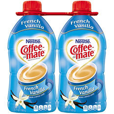 Coffee-Mate French Vanilla Liquid Coffee Creamer (56 fl. oz., 2 ct.)