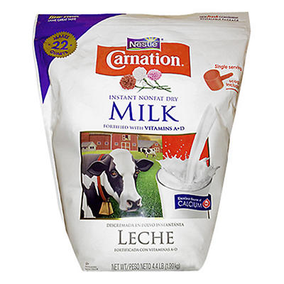 Carnation Instant Nonfat Dry Milk (4.4 lbs.)