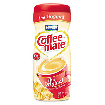 Nestle Coffee-mate - Powdered Creamer, Original - 22 oz