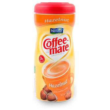 Nestle Coffee-mate - Powdered Creamer, Hazelnut - 15 oz