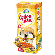 Nestle Coffee-mate - Liquid Creamer Tubs, Hazelnut - 50 Count