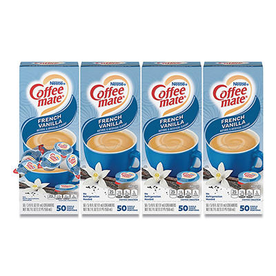 Nestle Coffee-mate - Liquid Creamer Tubs, French Vanilla - 50 Count