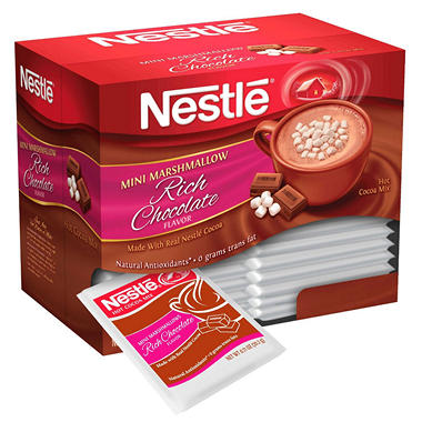 Nestle Hot Chocolate with Mini Marshmallows - Single Serve Packets - 30 ct.