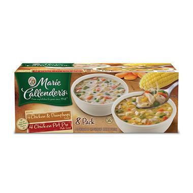 Marie Callender® Chicken Variety Soup, 8 Pack