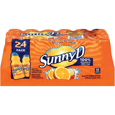 SunnyD� Tangy Original Orange Flavored Citrus Punch - 24/6.75 oz.