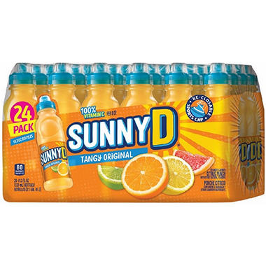SunnyD� Tangy Original Orange Flavored Citrus Punch - 24/11.3 oz.
