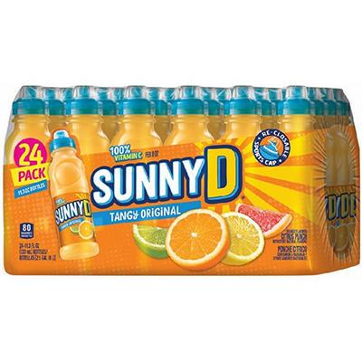 SunnyD Tangy Original Orange Flavored Citrus Punch (11.3 oz., 24 pk.)