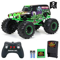 New Bright Full Function RC Monster Jam Grave Digger - 1:6 Scale Monster Truck