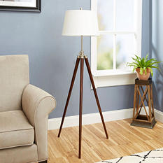 Survey Tripod Floor Lamp