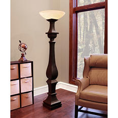 Verona Transitional Uplight Floor Lamp