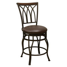 Sawyer Swivel Barstool (Choose Size)