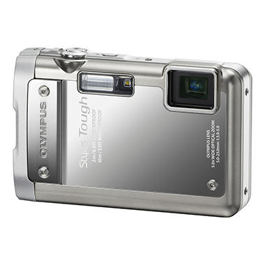 Olympus Tough 8010 14MP Digital Camera - Silver