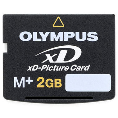 Olympus M+ xD Media Card - 2GB