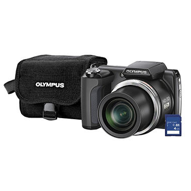 Olympus SP-610UZ 14MP Digital Camera
