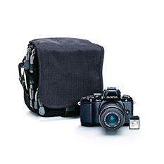 Olympus E-M10 16MP Interchangeable Lens Bundle with 14-42mm Lens, 8GB SD Card and Camera Case
