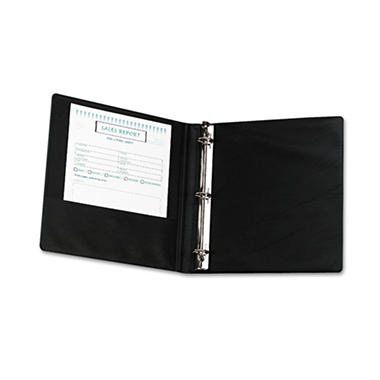 Samsill - Heavy-Duty Locking Round Ring Binder