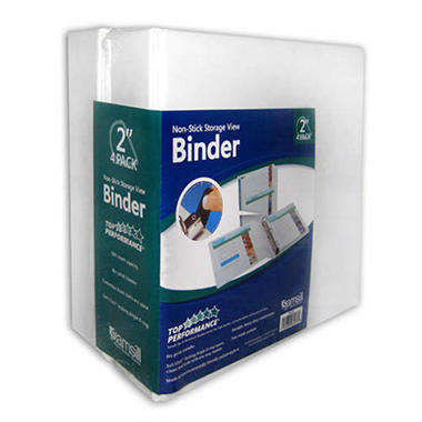 Samsill Non Stick View Binder - 2