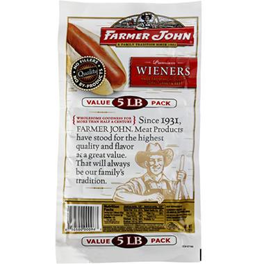 Farmer John Premium Wieners (5 lb.)
