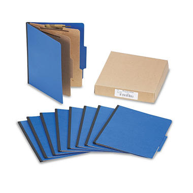 ACCO Color Coded Top Tab Folders w/ Fasteners
