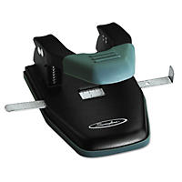 "Swingline - 28-Sheet Comfort Handle Steel Two-Hole Punch, 1/4"" Holes -  Black"
