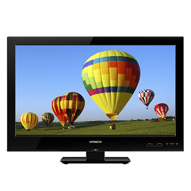 "19"" Hitachi LED LCD 720p HDTV"