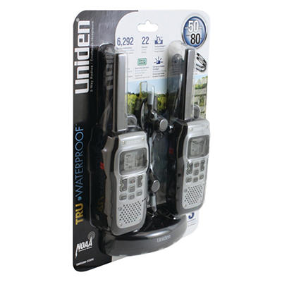 Uniden Submersible/Floating 50-Mile Radios - 2 pack