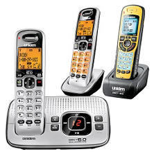 Uniden D1680-3X Cordless 3-Handset Telephone with Digital Answering System