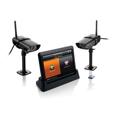 Uniden Guardian Advanced Wireless Security System with 2 Surveillance Cameras