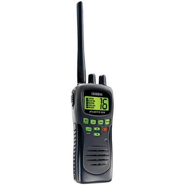 Uniden Atlantis Handheld Two-Way Marine Radio-Black