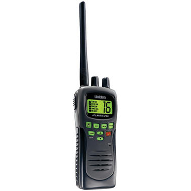 Uniden Atlantis Handheld Two-Way Marine Radio-Black