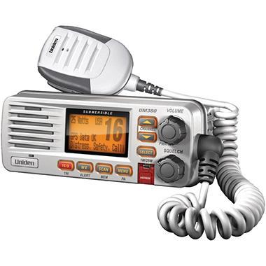 Uniden Solara Marine Radio - Black or White