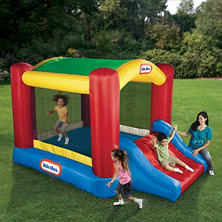 Little Tikes Shady Jump-N-Slide Bouncer
