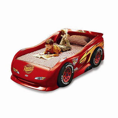 Lightning McQueen Sports Car Bed - Twin