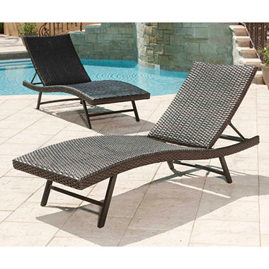 Toronto Outdoor Chaise Lounge - 2 pk.