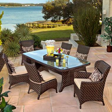Grand Cayman Dining Set 7 Pc Sam 39 S Club