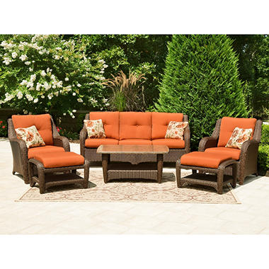 Biscayne Club Outdoor Seating Set - 6 pc.