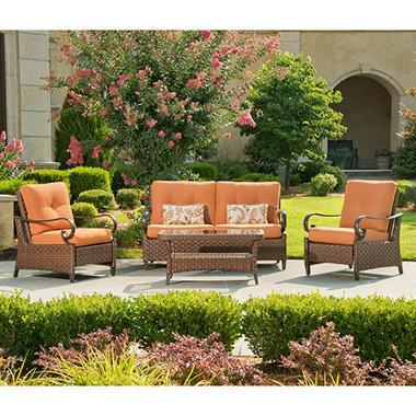 Rio Grande Outdoor Deep Seating Set - 4 pc.
