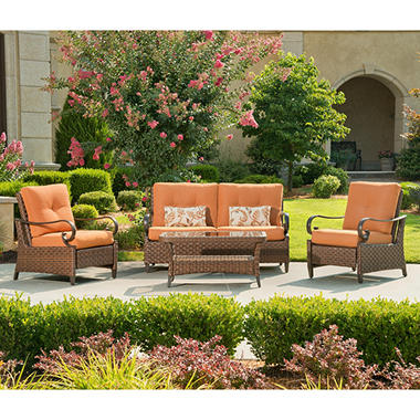 Rio Grande Outdoor Deep Seating Set - 4 pc.