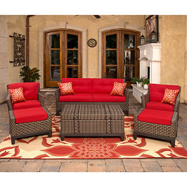 Metro Outdoor Deep Seating Set - 6 pc.
