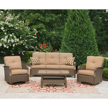 Montero Outdoor Deep Seating Set - 4 pc.