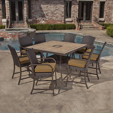 Brentwood High Dining Set -10 pc.